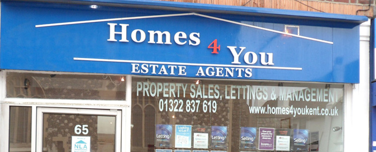 Contact Us About Property For Sale or To Let In Dartford Kent - Homes 4 You Kent